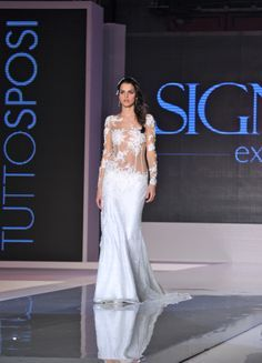 Tattoo Wedding Dress by Maison Signore