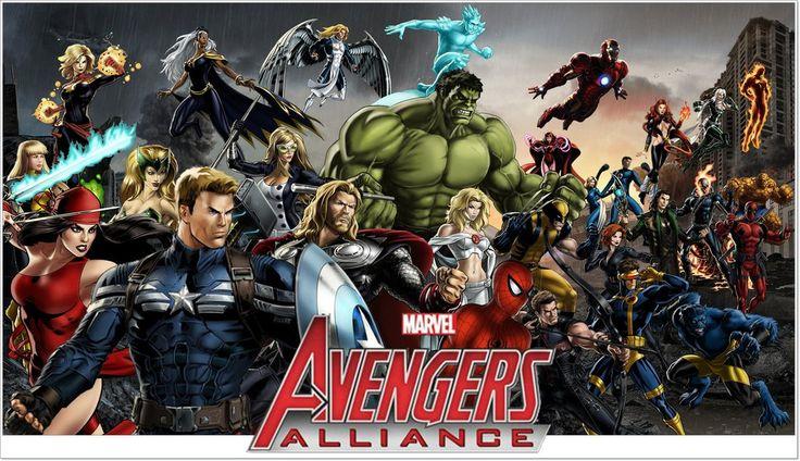 avengers Marvel 3