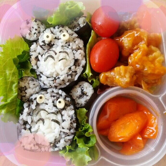 Totoro bento & 26 best kids school bento-box lunch images on Pinterest   Bento ... Aboutintivar.Com