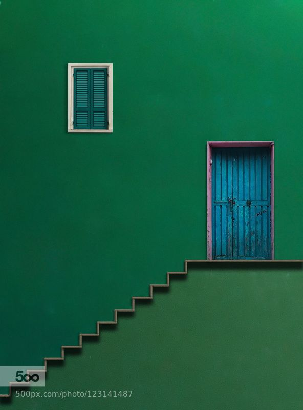 Blue Door - Pinned by Mak Khalaf Happy Sunday :)) City and Architecture Popular Tagsabstractabstractoarchitecturebluegreenman on the moonminimalminimalismpuertawindowsaupa atletifine artyo tambien se hacer spam jaja by AlfonsoNovillo