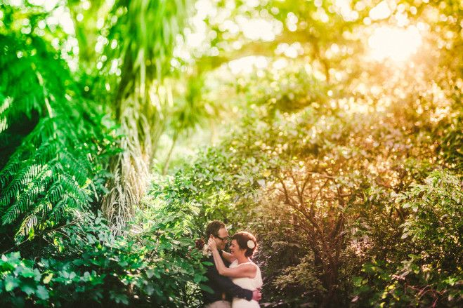 Here's Sophie & Brett, a couple of weeks ago, at ZEALANDIA. That beautiful late-evening sunshine on the final evening of daylight savings is beautiful. Photo by 'We Do Photography & Design' http://wedo.net.nz/ #wedding #photography #nature #newzealand
