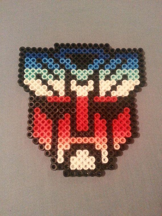 Transformers Auto Bots perler pattern