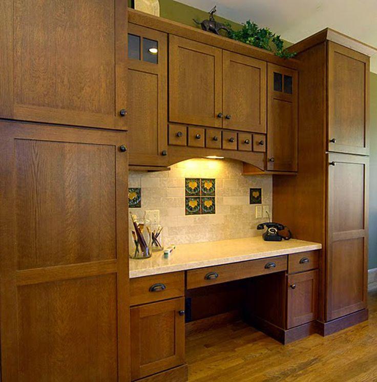 39 best Quarter sawn oak images on Pinterest | Craftsman kitchen ...