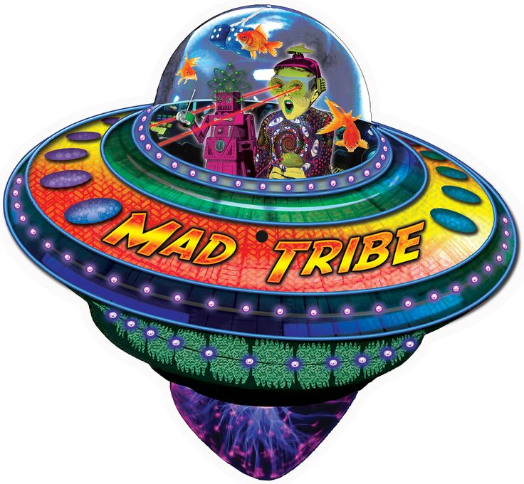 Out of this World - UFO shaped picture disc : Mad Tribe  Limited edition release of only 300 pieces.  Join MAD TRIBE for an incredible OUT of this WORLD experience.