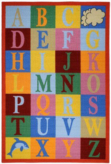 Amazon com   Kids Educational Alphabet Boxes Multicolor 3 3  x 5. 246 best child rug images on Pinterest