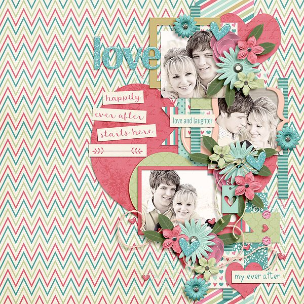 Ever After by Luv Ewe Designs and Tinci Designs http://store.gingerscraps.net/Ever-After-Collab.html