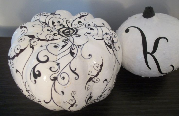 White & black pumpkins  Pinned for Kidfolio, the parenting mobile app that makes sharing a snap.