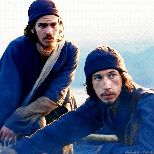 """Andrew Garfield and Adam Driver in Martin Scorsese's """"Silence"""" (2016)."""