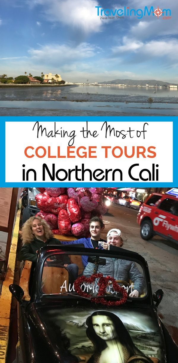 Making the Most of College Tours in Northern California. Our 4 days spent college touring, sightseeing, and exploring Northern California, using San Francisco as our base.