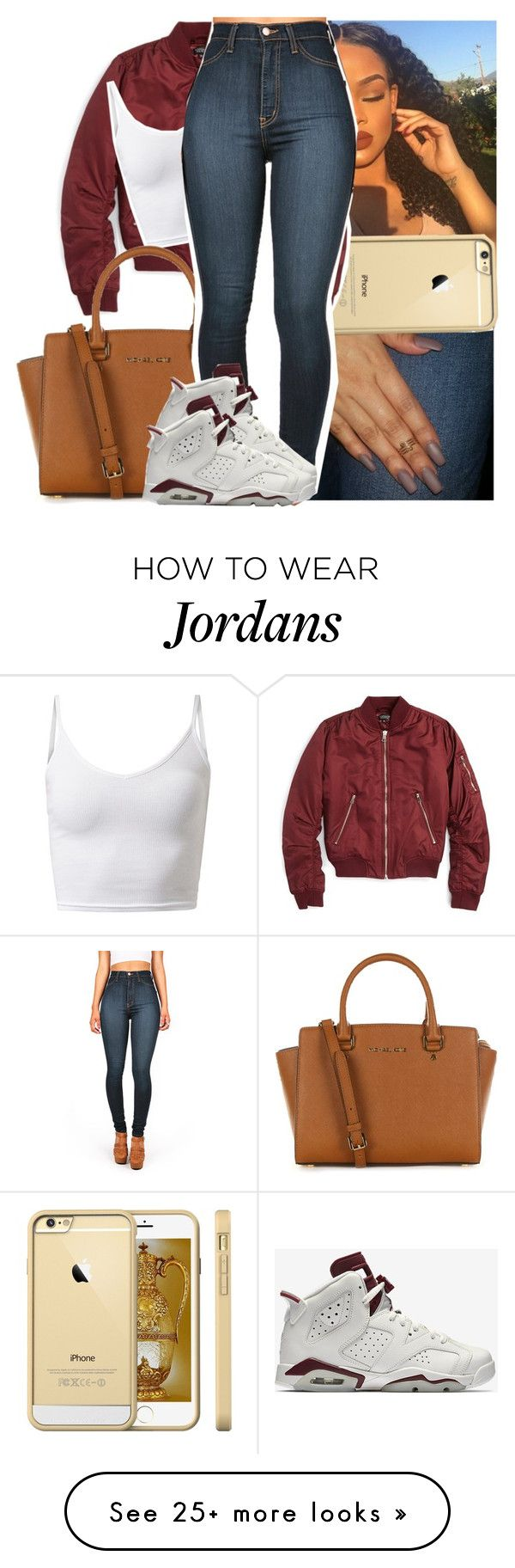 """Don't know where ya went but ya gone now."" by naebreezy on Polyvore featuring Topshop, MICHAEL Michael Kors and NIKE"