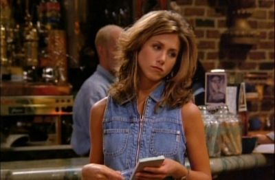 """Rachel Green style icon...She was my original style icon!! Yes, I had """"the Rachel""""!"""