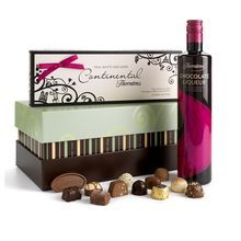 For a real treat, what about this Chocolate Liqueur Hamper from Thorntons! Yum!