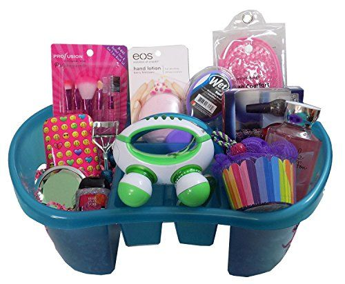59 best trending gift baskets for christmas 2015 images on trending 1 beauty gift basket for girls or tweens perfect for easter birthday negle Images
