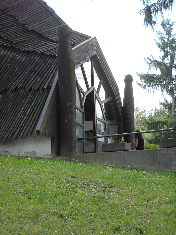 Casa del villaggio (1985-88), Arch. Imre Makovecz | ph. Martina Giustra