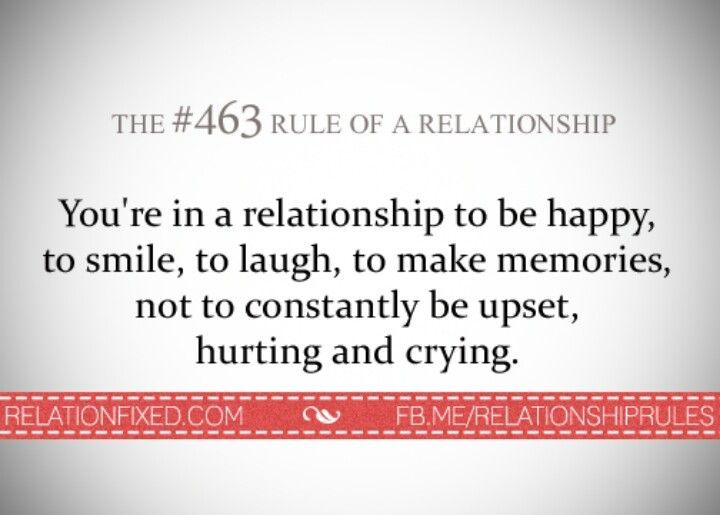 Relationship Rules.