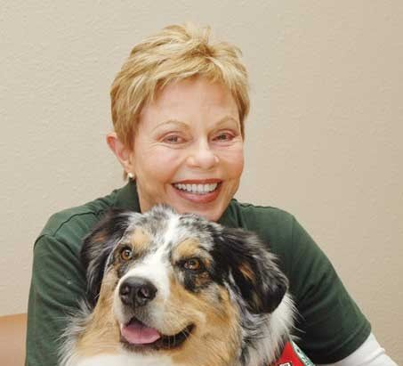 Toni Tennille, 73: Tony Tennill Saw, Tony Tennille, Flags, Therapy Dogs, Tennil Poses, Australian Shepherd