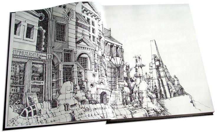 sketchbook | 2005 2007 samples from sketchbooks