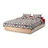 IKEA Mandal Bed frame/headboard/mattress (Queen)
