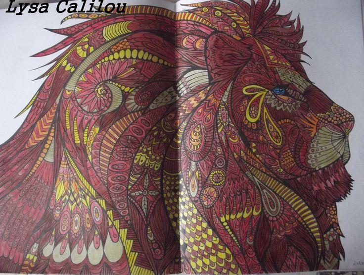 Lion de bestiaire, cdc color'speps