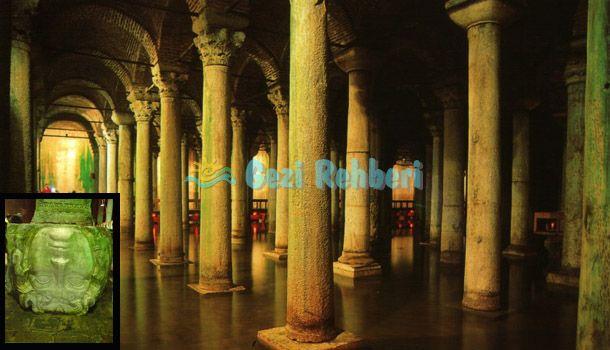 #SunkenPalace in İstanbul  http://www.gezi-rehberi.com/gorkemli-dev-yapisiyla-yerebatan-sarnici.html