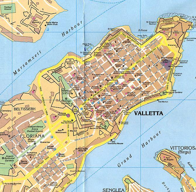 Malte - Valletta : Capitale de Malte