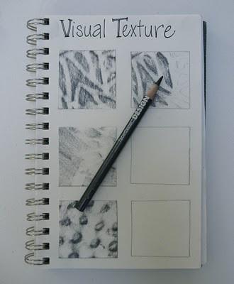 Texture Lesson art-lesson-planning
