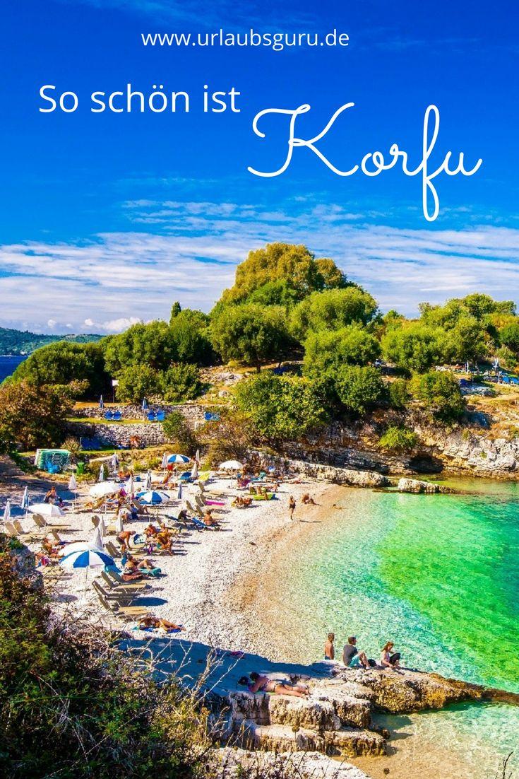 Korfu zählt zu den beliebtesten Inseln - nicht ohne Grund! Die Insel ist mit ihrer Geschichte, ihren traumhaften Stränden und den vielen Olivenbäumen das perfekte Urlaubsziel.