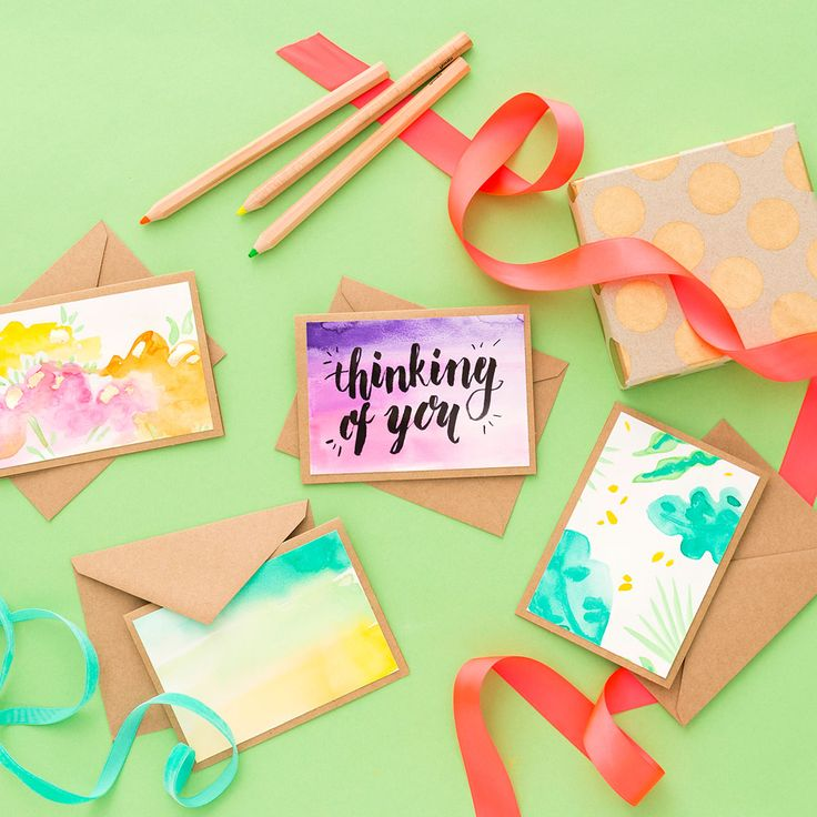 Check out these 3 DIY techniques for elevating your snail mail game. #partner