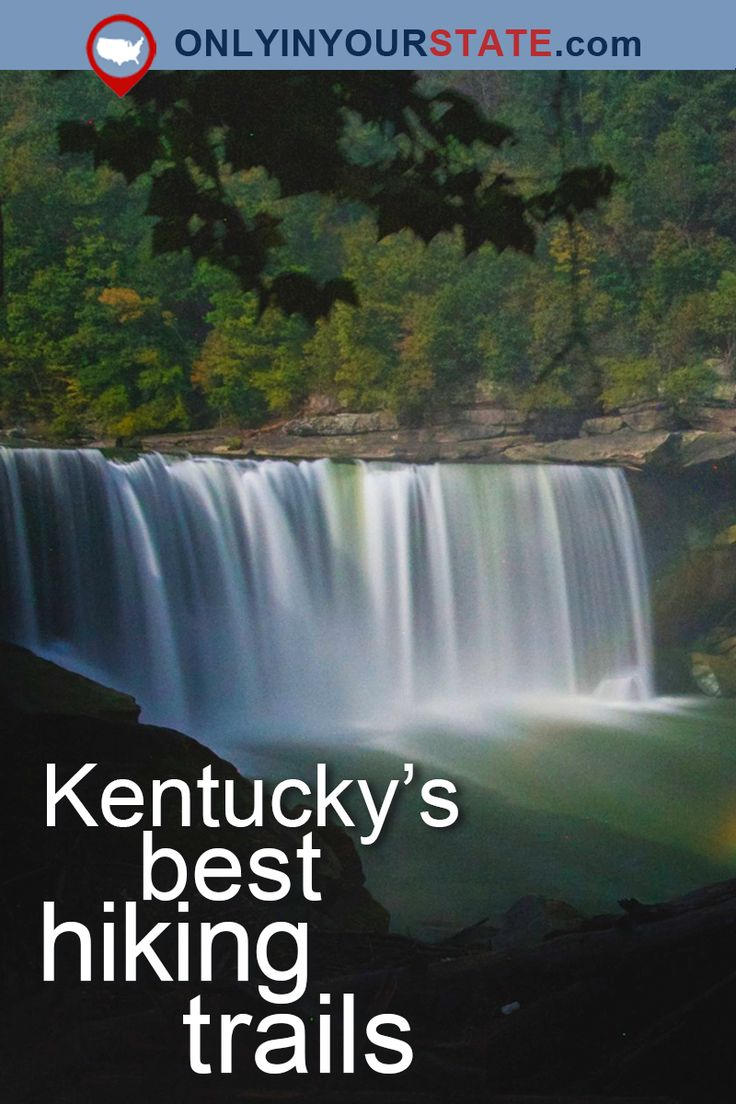 Travel | Kentucky | USA | Attractions | Outdoors | Adventure | Waterfalls | Things To Do | Easy Hikes | Trails | Hiking | Natural Bridge | State Parks | Kentucky Trails | Lakes | Waterfront | Explore | Underground | Caves | Day Trips | Places To Visit | Nature | Natural Beauty