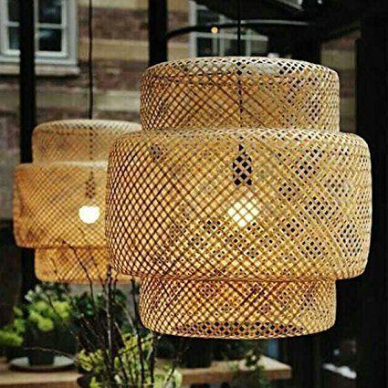 MeiZiWang Bambù E Rattan Selvaggio Vietnam Artigianali Di Bambù Artigianato Lampadari Lampade Palazzo Stile Nordico Lanterne Lampadario
