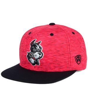 Top of the World Boston Terriers Energy 2-Tone Snapback Cap - Red/Black Adjustable