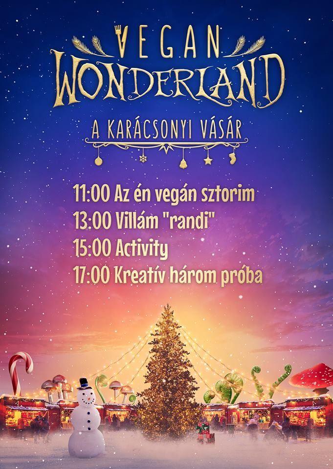 Vegán Karácsonyi Vásár az Anker'tben dec.17. (vasárnap)