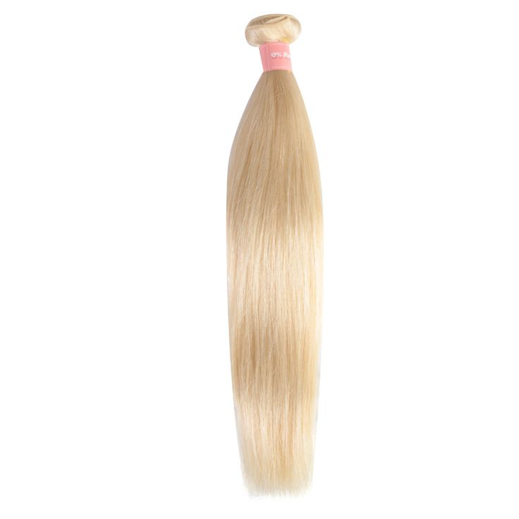 ==> [Free Shipping] Buy Best DLME Silky Straight 613# Blonde Color Peruvian Hair Weave 10-30inch 1 Bundles 100G/Pcs No Shedding Synthetic Free Shipping Online with LOWEST Price | 32805792886