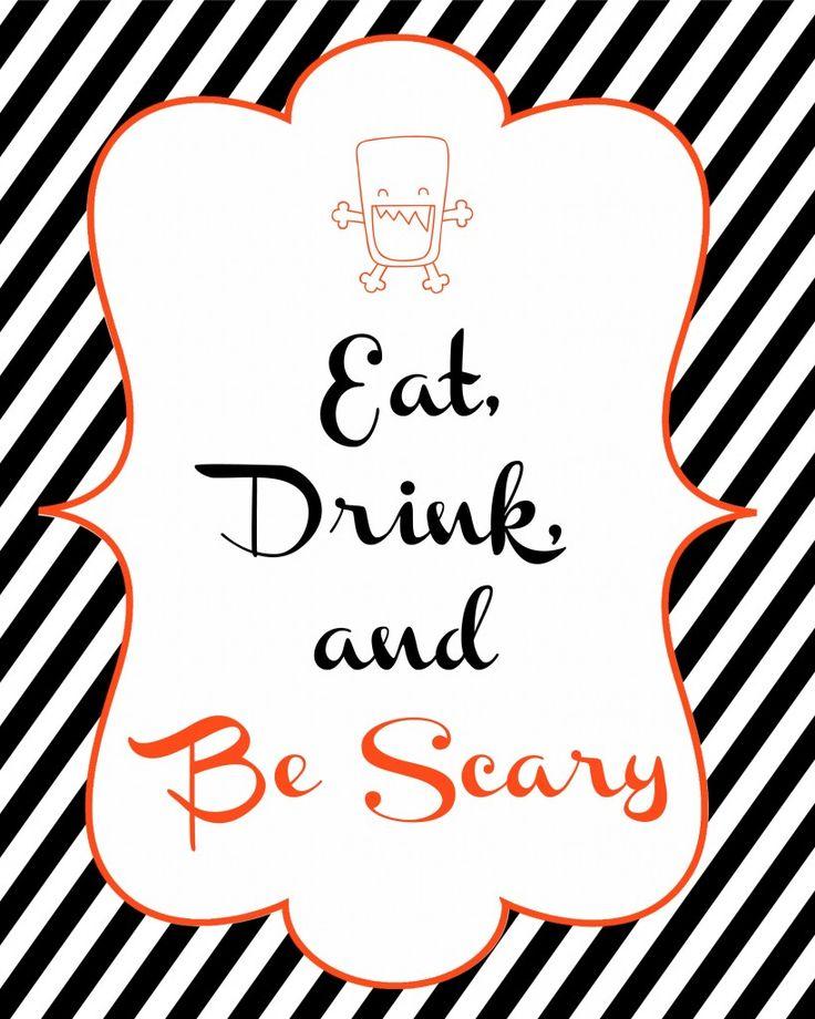 Spookiest Things Halloween Prints #freebie #printable