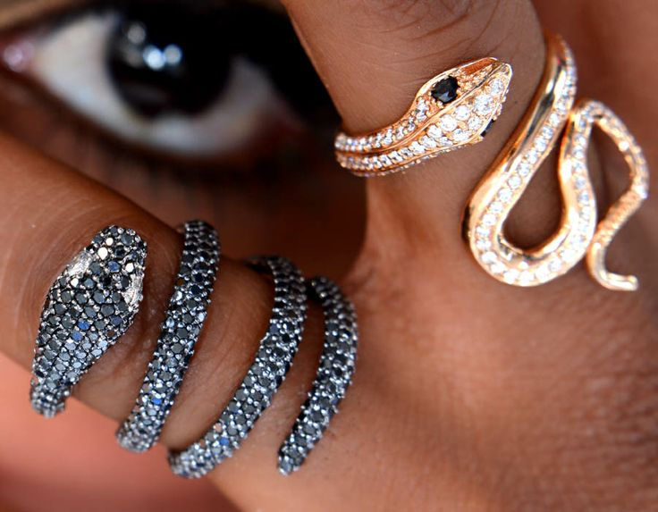 Snakes, diamonds, By Hala Fashion Shoot