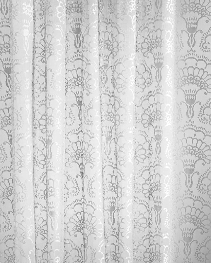 Lennol | MILJA Lace curtain, grey. Also available in white color.