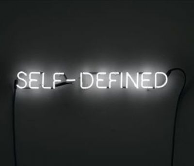 Joseph Kosuth, Self-Defined, 1965.