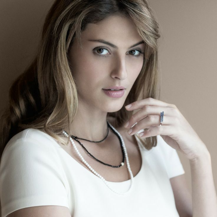 Erato Necklace with natural gemstones   Shop it now at www.faystone.com