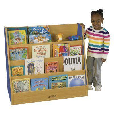 ECR4KIDS Colorful Essentials Big Book Display Stand Blue - ELR-0719-BL