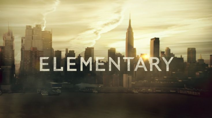 Elementary TV-show Logo - Starring Jonny Lee Miller as Sherlock Holmes ...