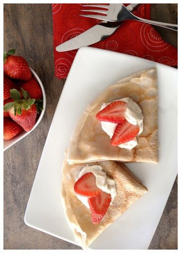 Gluten Free Crepes - Dinner Was Delish