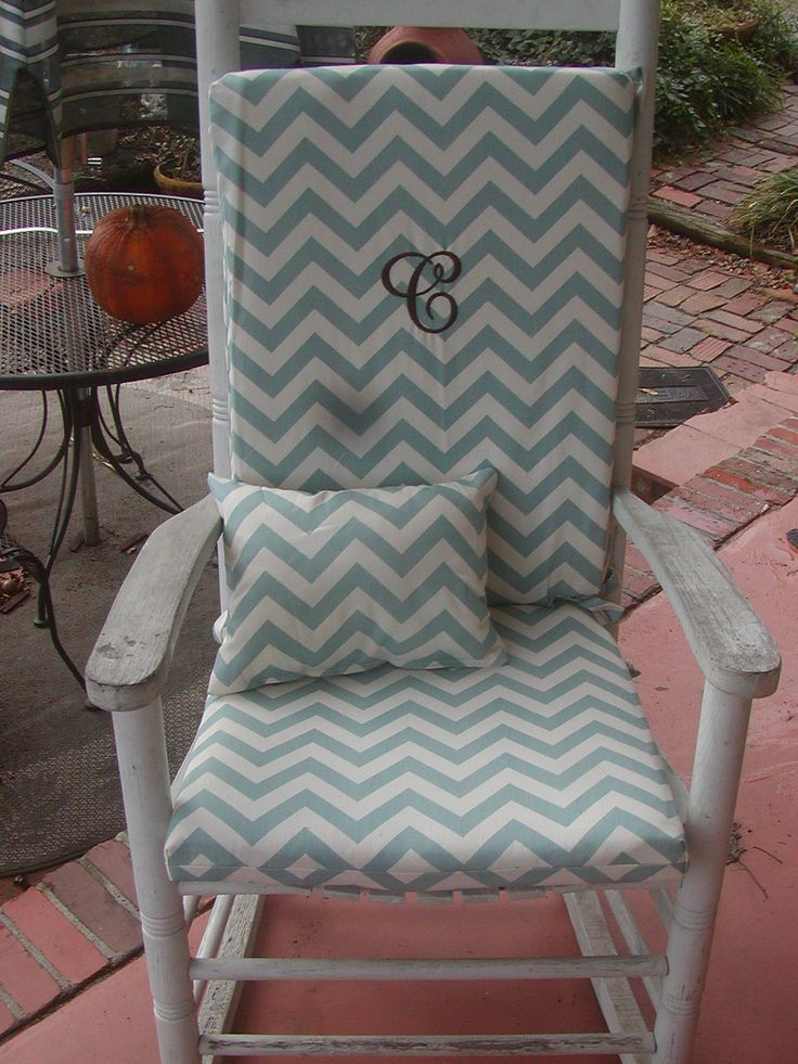 17 best images about rocking chairs on pinterest rocking chairs scarlet and wicker rocking chair - Rocking chair cushion diy ...