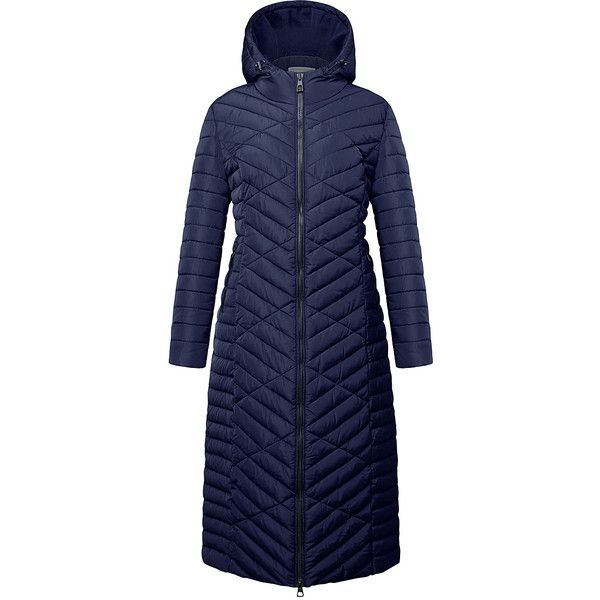 The Whole Shebang Navy Full-Length Hooded Puffer Coat (3.895 RUB) ❤ liked on Polyvore featuring plus size women's fashion, plus size clothing, plus size outerwear, plus size coats, plus size, plus size puffer coat, puffy coat, hooded puffer coat, womens plus coats and long puffy coat