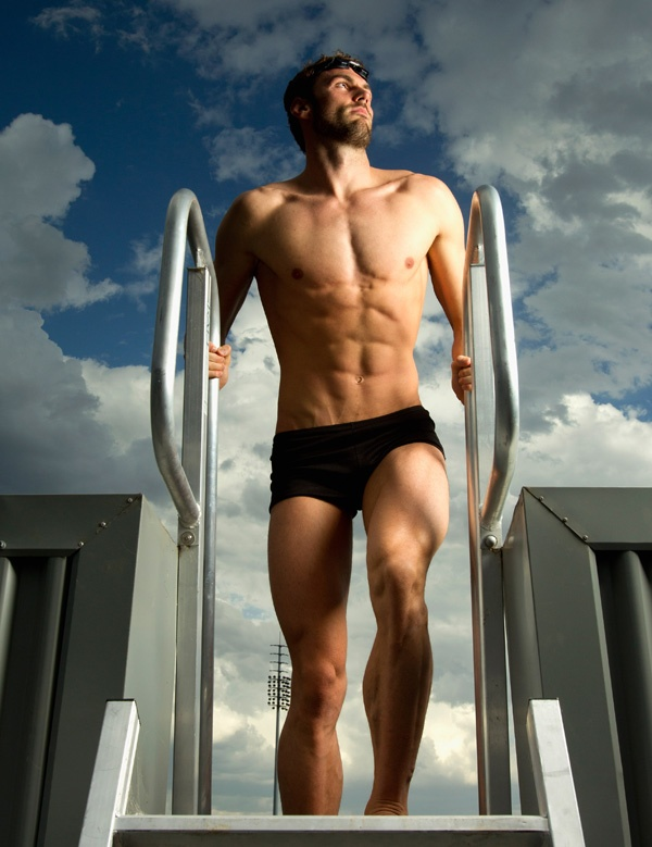Australian Olympian Swimmer Matt Targett