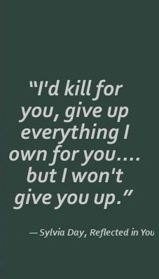 #Crossfire I love when Gideon says this to Eva