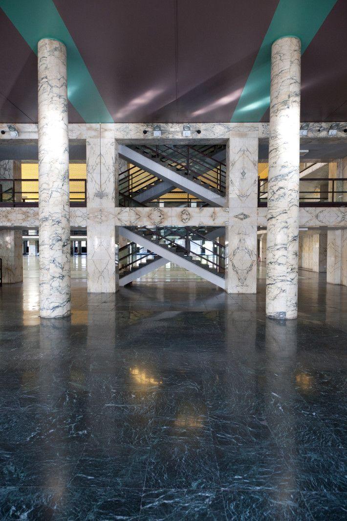 Palazzo dei Congressi di Roma, 1937-1943 e 1952-1954