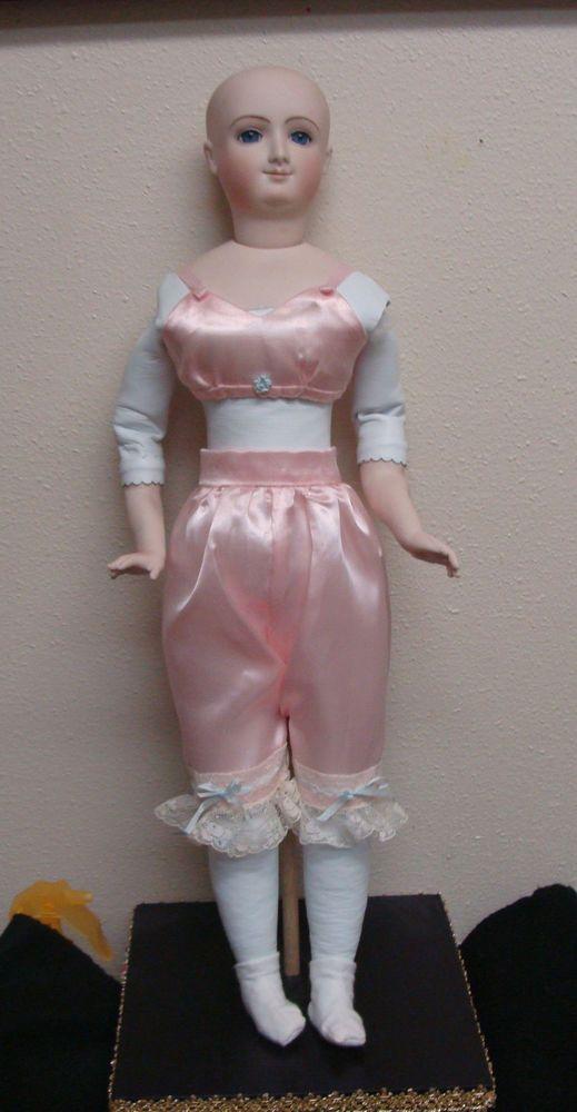 """REDUCED ! Antique Repro Bru French Fashion doll 20"""" by Barbara Carroll    eBay"""