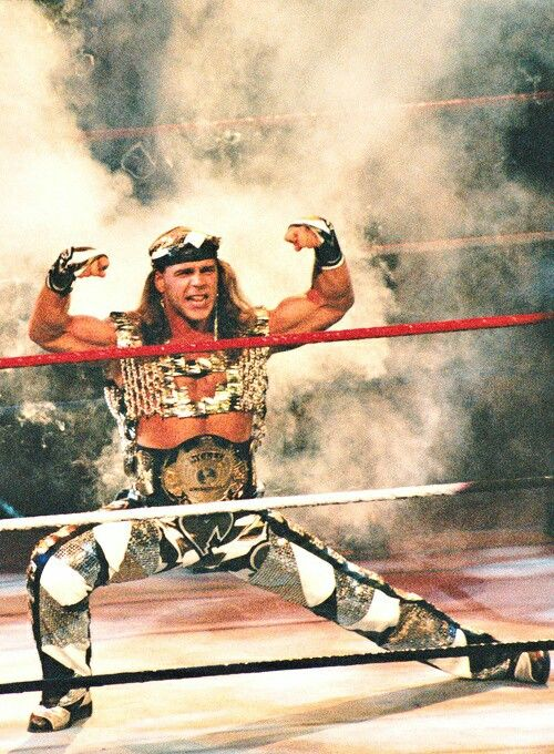 WWE Champion Shawn Michaels