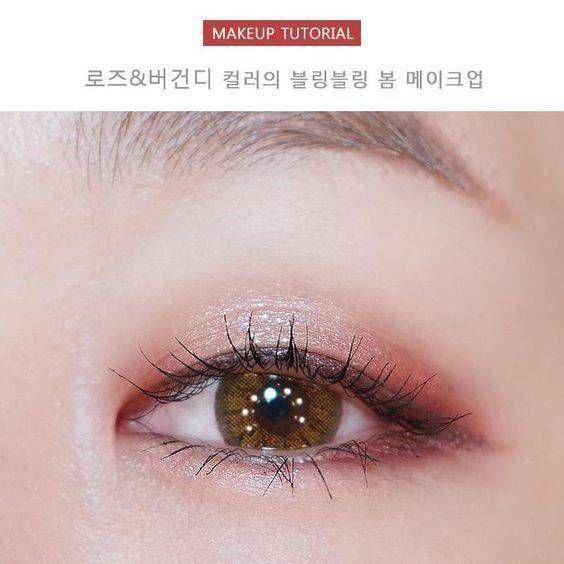 https://www.i-sabuy.com/ อายแชโดว์สีชมพูอมส้ม หรือแดง ช่วยให้ลุคของสาวๆ ดูอ่อนโยน และดูแบ๊วเหมือนเด็กๆ ยิ่งไปกว่านั้นสีโทนนี้ยังเป็นที่นิยมในเหล่า Ulzzang เกาหลีคนดังอีกด้วย