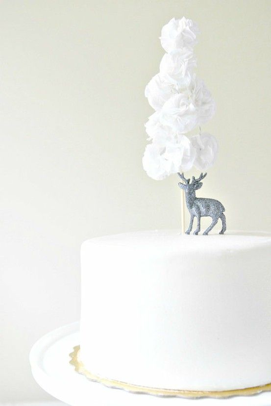 Four Winter Cake Toppers We Love